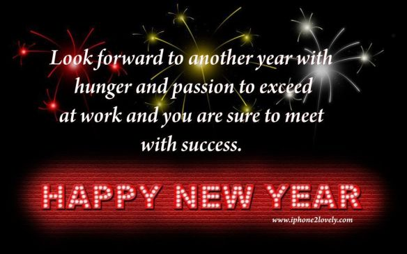 Happy New Year Blessings With Success