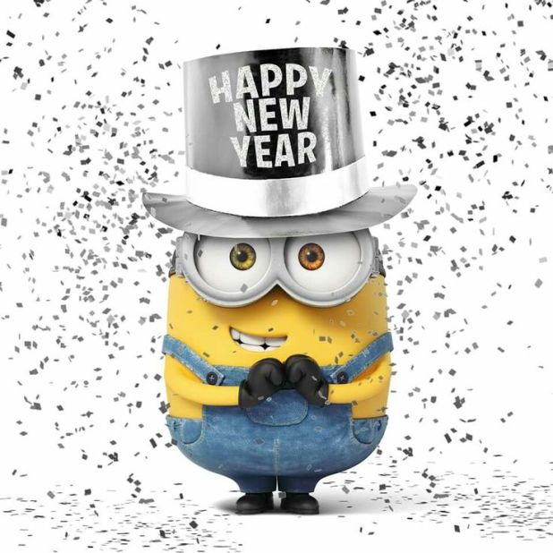 Happy New Year Funny Minion Quotes Image