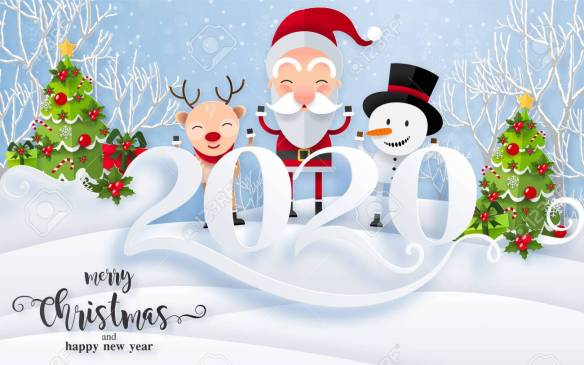 Merry Christmas And Happy New Year 2020 Wishes 10