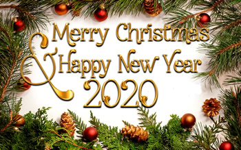 Merry Christmas And Happy New Year 2020 Wishes 2