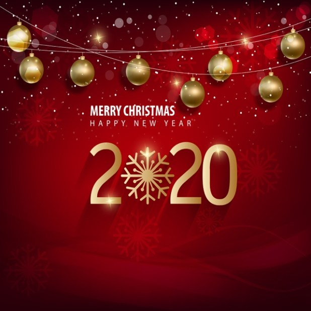 Merry Christmas And Happy New Year 2020 Wishes 22