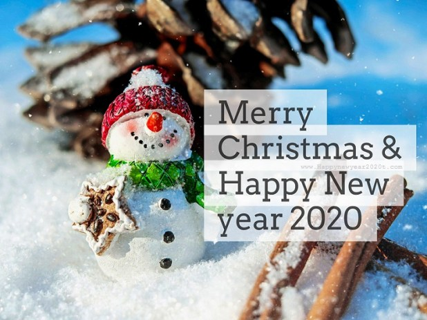 Merry Christmas And Happy New Year 2020 Wishes 3