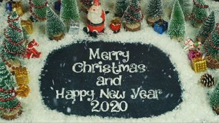 Merry Christmas And Happy New Year 2020 Wishes 4