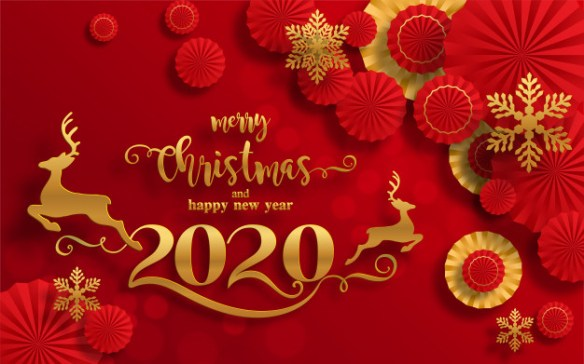 Merry Christmas And Happy New Year 2020 Wishes 7