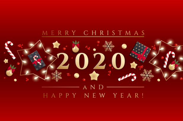 Merry Christmas And Happy New Year 2020 Wishes 8