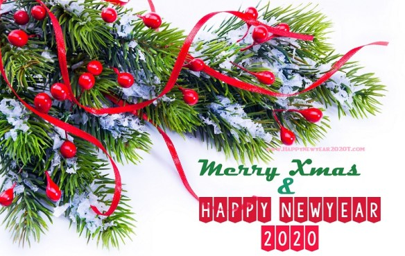 Merry Christmas And Happy New Year 2020 Wishes 9