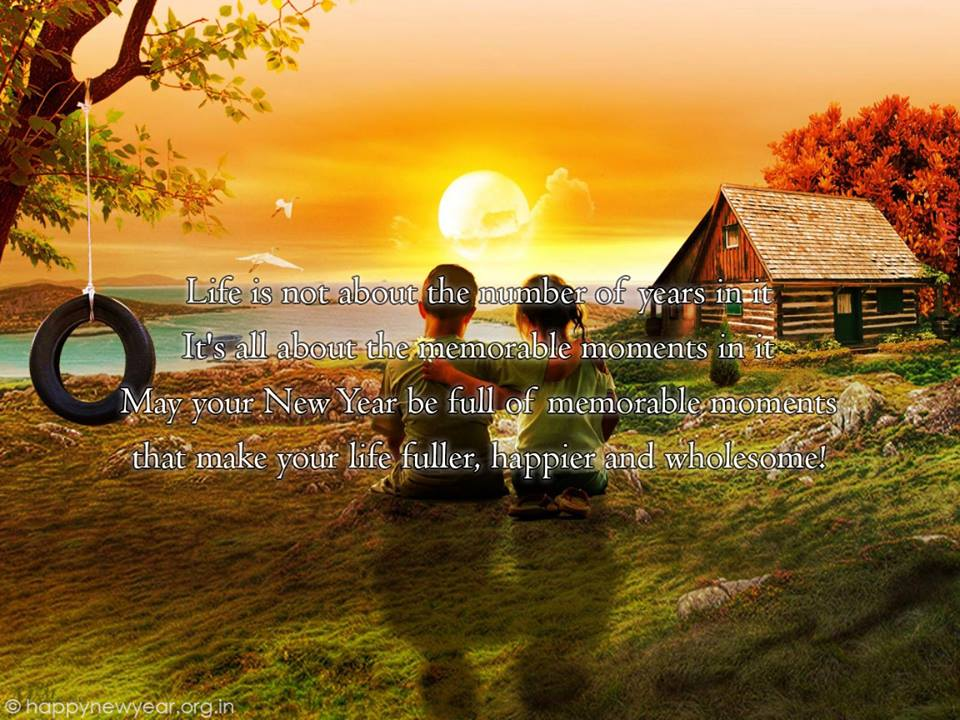 Brother Quotes Wallpaper Hd Happy New Year 2015 Greeting Card For Lovers Romantic