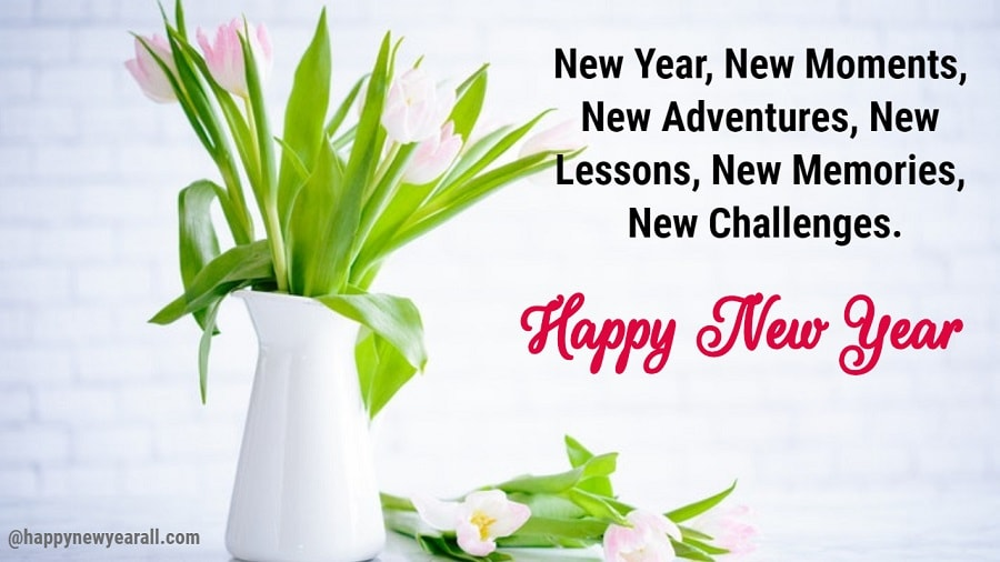 New year quotes cards
