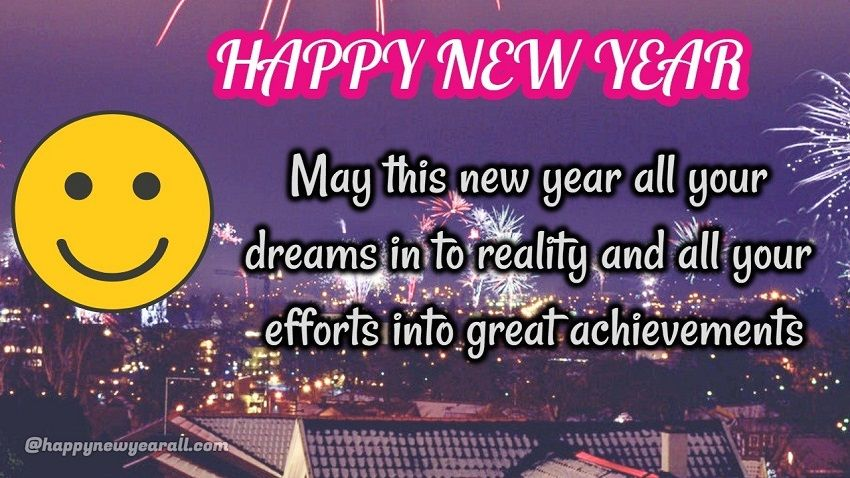 Formal New Year Wishes
