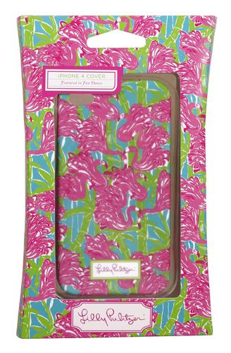 4G/4S iPhone Covers from Lilly Pulitzer Fan Dance