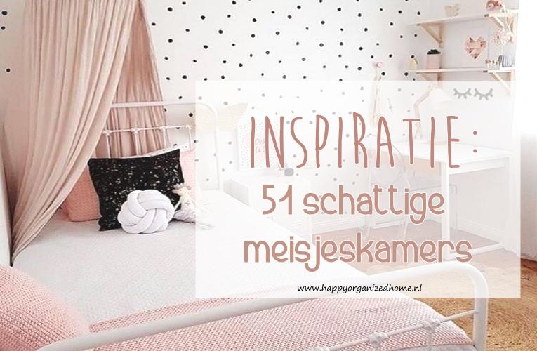 Inspiratie 51 Schattige Meisjeskamers  Happy Organized Home