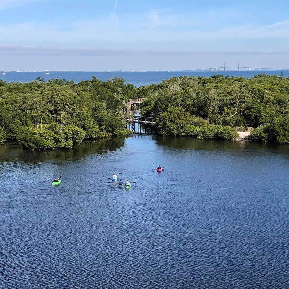 Kayaking at Robinson Preserve