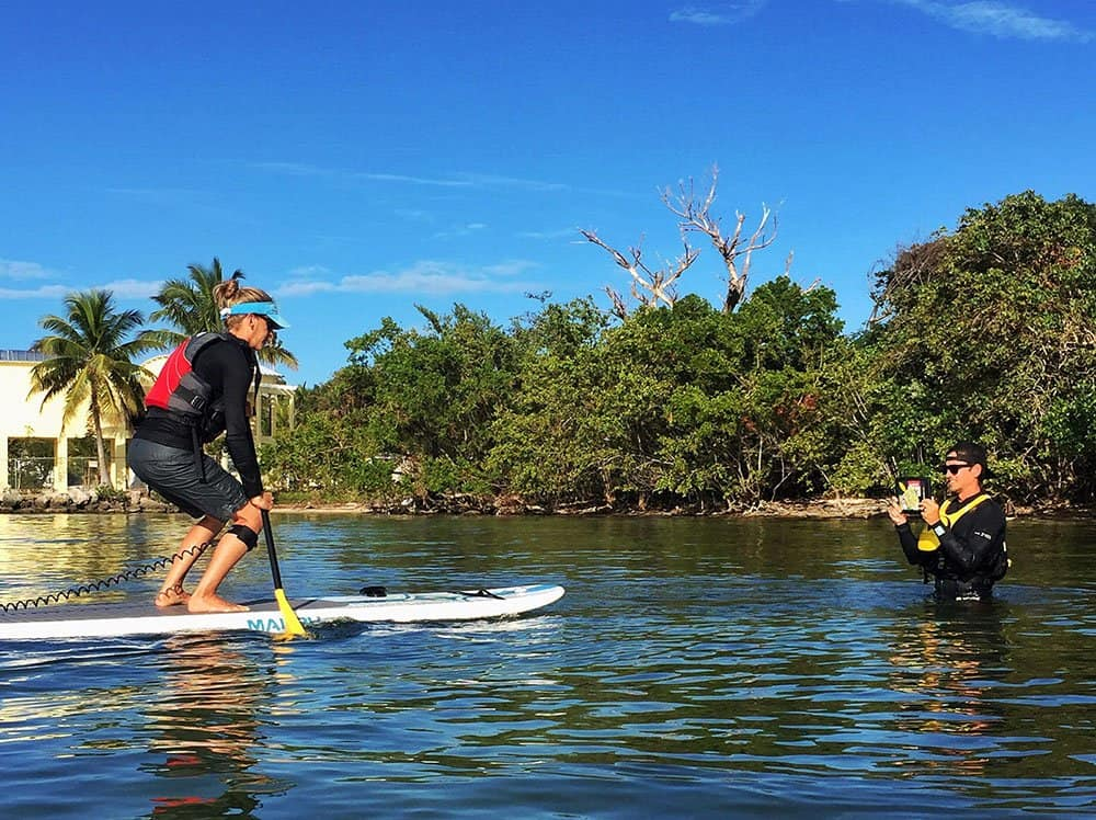 stand up paddleboard training