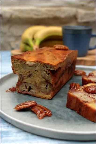 cake banane pralines