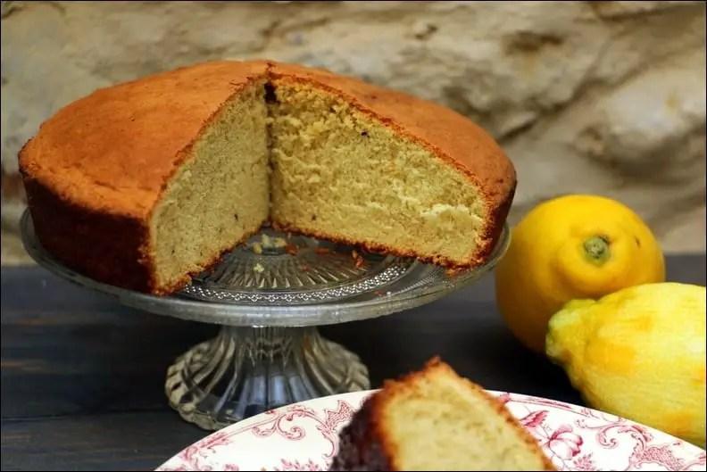 Biscuit léger au citron et fève tonka – sans beurre et sans lactose