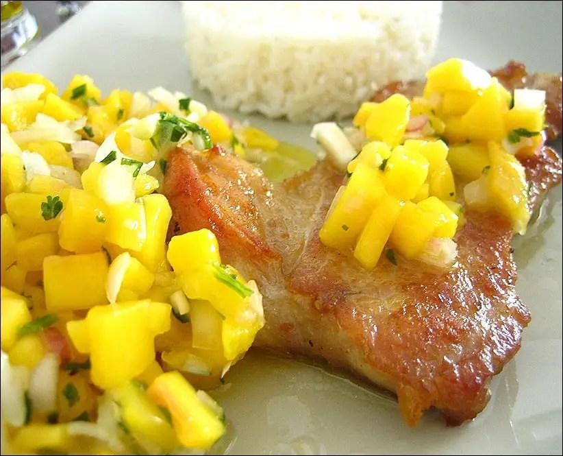 côte de veau mangue