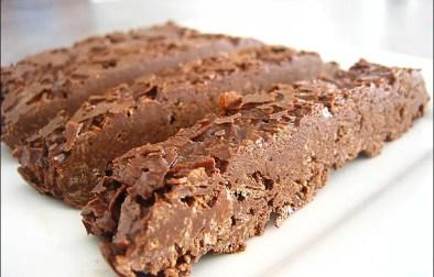 barres croustillantes nutella