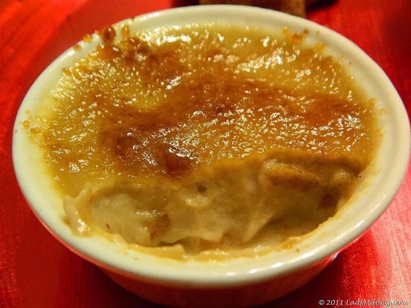 crème brulée marrons glacés