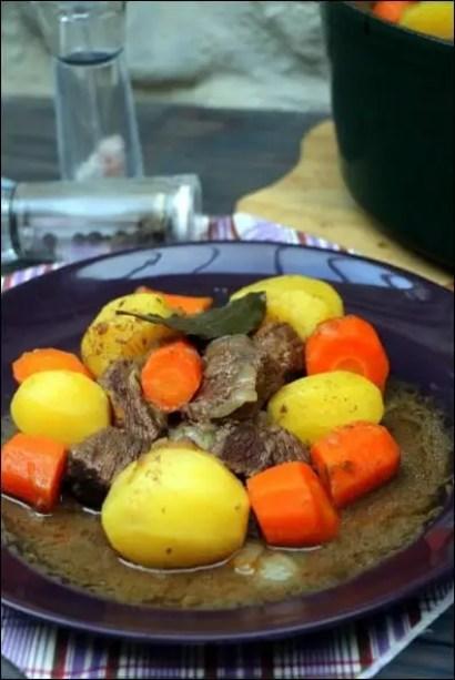 bœuf mijoté au codre
