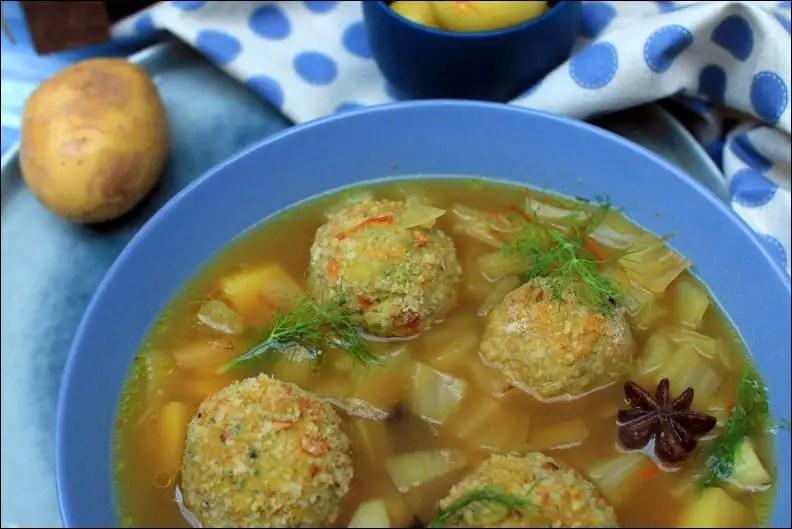 boulettes de poisson et leur bouillon à la marseillaise de Gérald Passedat