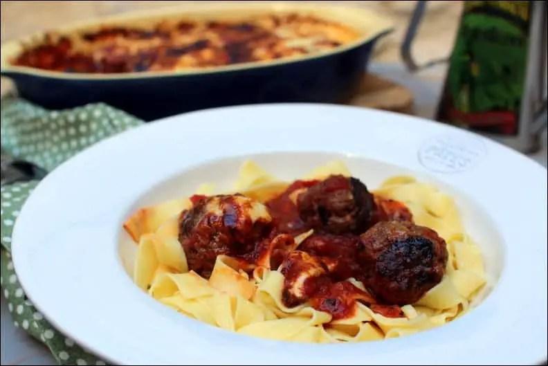 boulettes de bœuf à l'italienne de Jamie Oliver