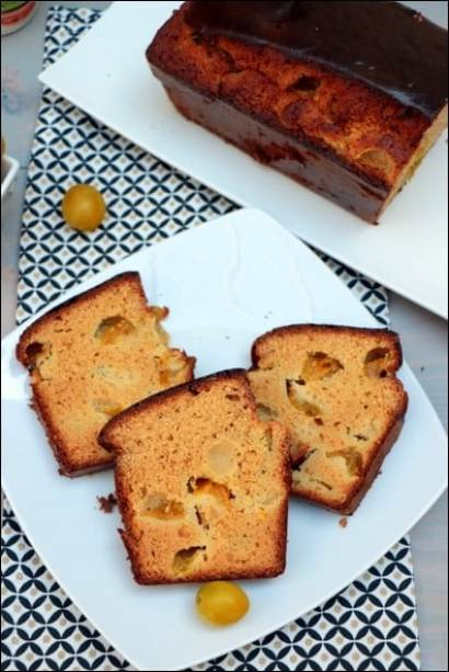 cake farine pois chiches