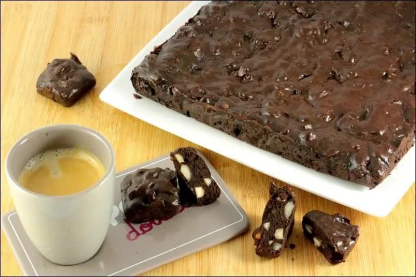 brownie au chocolat intense