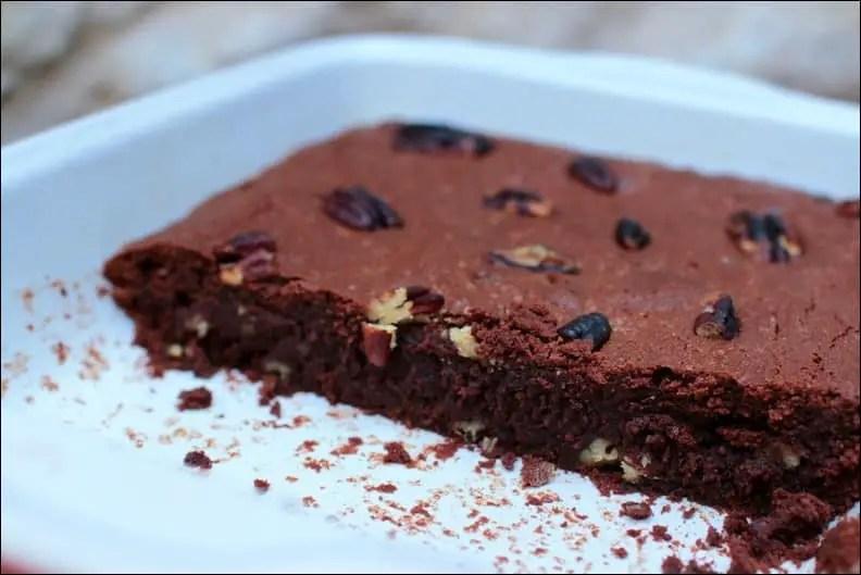 Brownie aux noix de pécan – sans gluten