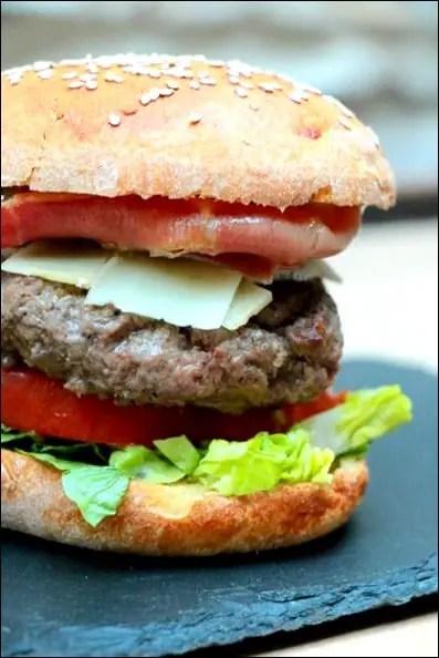 recette burger boeuf maison
