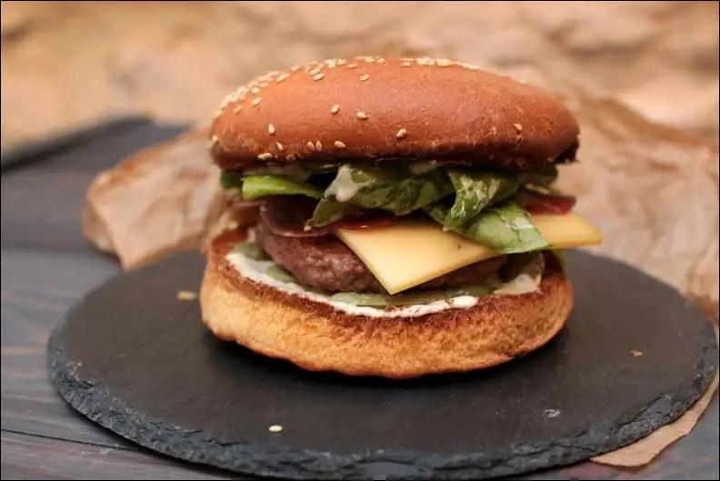 burger au bœuf raclette
