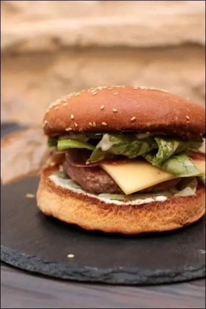 recette burger maison