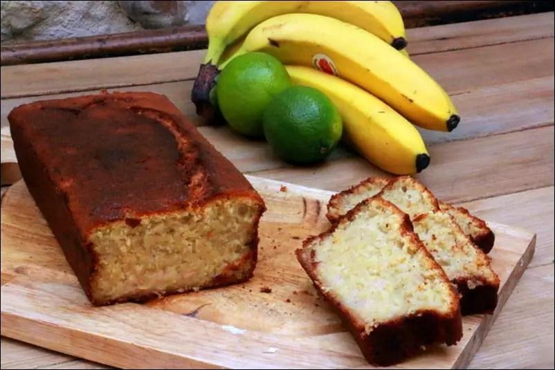 banana cake citron vert