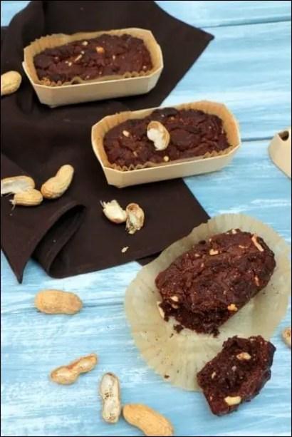 gateau chocolat cacahuètes