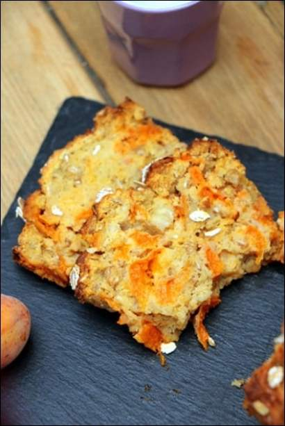 cake abricots frais
