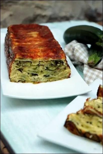 cake ravioles courgette