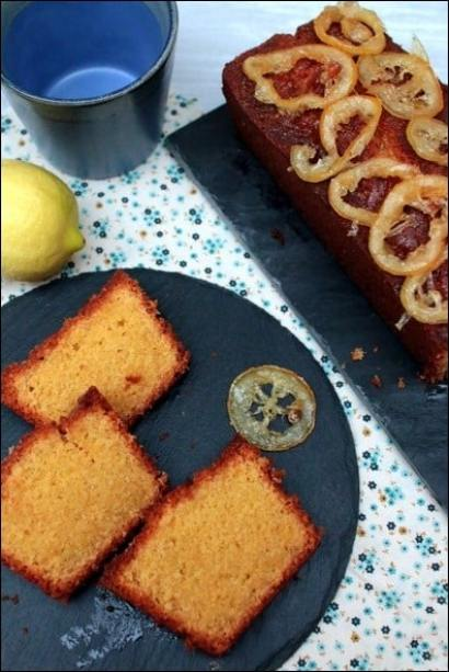 cake polenta citron