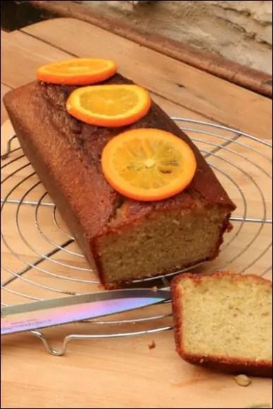 cake orange cardamome