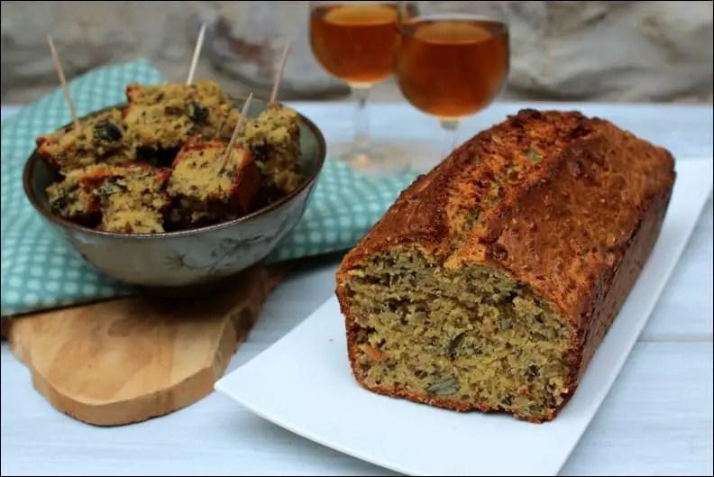 cake aux graines et au comté