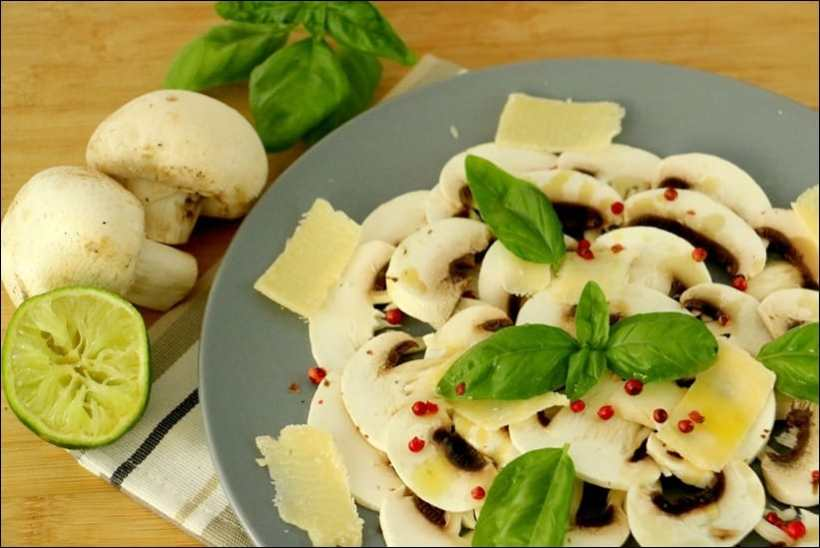 champignons au parmesan