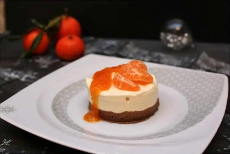 cheesecake ricotta et clémentine