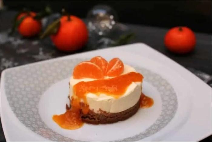 cheesecake clémentine