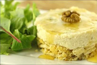 cheesecake roquefort noix