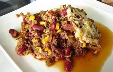 chicli con carne gratiné