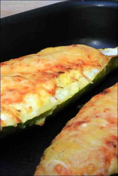 courgettes farcies ricotta