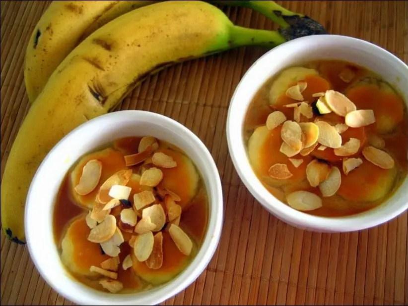 petits pots de crème à la banane