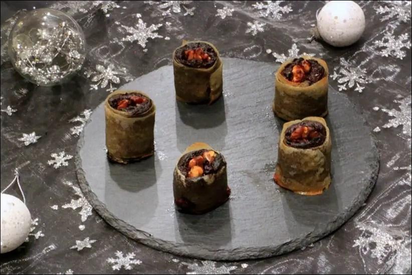 croustillants créoles boudin et noix