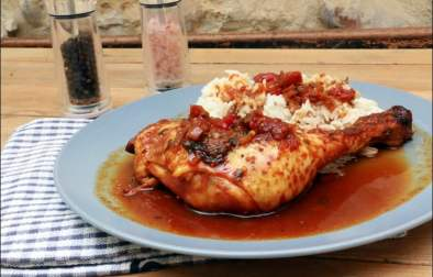 cuisses de poulet roussi à la créole