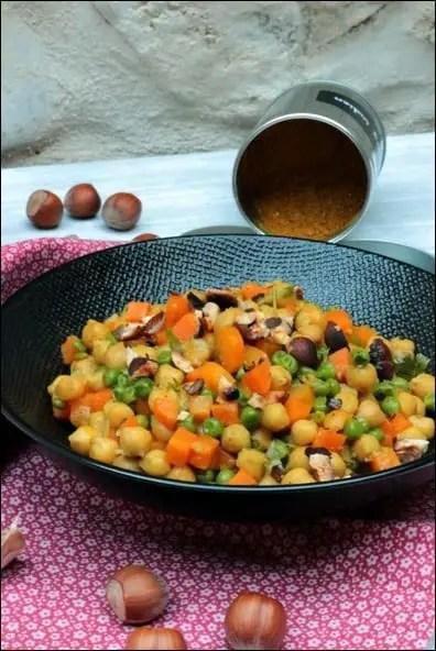 curry de pois chiches sans lait de coco