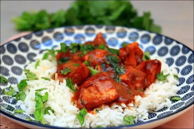 curry rouge de poulet à la thaï