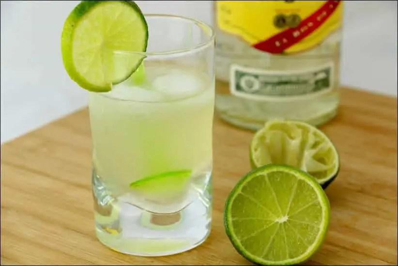 daiquiri citron vert rhum